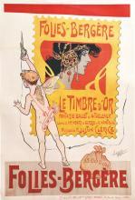 Folies Bergères Le Timbre d'Or vers 1900