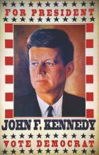 John F. Kennedy for President - Reimpression des années 70 vers 1970
