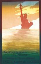 Pour La Liberté du Monde ( Statue de la Liberté ) vers 1918