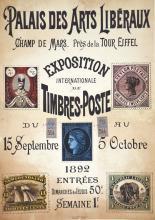 Exposition de Timbres-Poste Palais des Arts Libéraux 1892