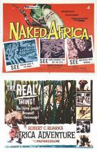 Lot de 2 Aff : Africa Adventure - Naked Africa 1954 & 1957
