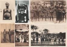 Lot de 108 Cartes Postales: Cameroun : Douala & autres villes & divers Pays d'Afrique vers 1930