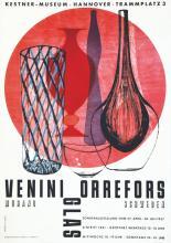 Murano - Venini Orrefors Glas 1957