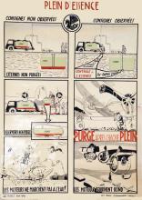 Air France - Plein D'essence 1946