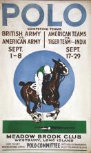 Polo Long Island Meadow Brook Club Westbury Long Island New York vers 1920