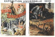 Exposition Universelle 1900 Trocadéro - Le Monde Souterrain & Expo Minière Souterraine 1900