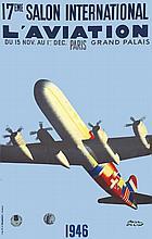 COLIN PAUL, 17eme Salon International de l'Aviation 1946 1946 Courbet Paris