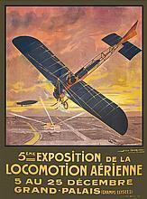 DORIVAL GEO, 5 eme Exposition de la Locomotion Aerienne Grand Palais Champa