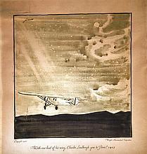 CUERA, Charles Lindberg goes to Paris - Wright Aéronautical Corporation 192