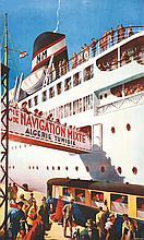 DARD MAURICE, Algérie Tunisie - Cie de Navigation Mixte vers 1950 Robaudy C