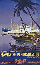CHAPELET ROGER, Nouvelle Compagnie Havraise Peninsulaire de Navigation vers