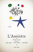 L'Antitête par Tristan Tzara vers 1950