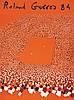 Roland Garros 1984 Lithographie signée par Gilles Aillaud et N° 103 /150 1984, Gilles Aillaud, €600