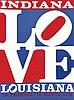 Love Indiana Louisiana . 1972 . Domberger   Stuttgart, Robert Indiana, €200