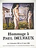 Paul delveaux Centre Cult Wallonie . 1986 ., Paul Delvaux, €150