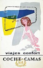 Coche Camas . vers 1950 .