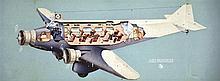Air France - Breguet Wibault . vers 1930 .