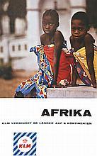 Afrika KLM . vers 1960 .
