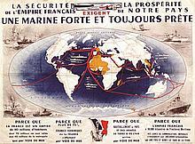 Une Marine Forte et Toujours Prete . vers 1930 . Chassagny & Cie   Paris