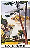 La Corse : ( Les Calanches de Piana & Le Golfe de Porto ) - P.L.M . vers 1920 . Lucien Serre , Lucien Peri, €1,000