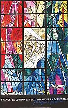 VILLON JACQUES  France / La Lorraine / Metz: Vitraux de la Cathédrale     1957