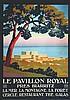 CONSTANT - DUVAL  Le Pavillon Royal près de Biarritz     vers 1925, Constant (1877) Duval, €600