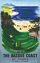 VILLEMOT BERNARD  The Basque Coast     1957