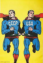 CIESLEWICZ ROMAN  CCCP USA     1968