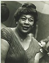 BERNATH JEAN CLAUDE  Photo de Ella Fitzgerald, Olympia 1957.
