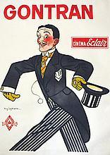 LEYMARIE AUG.  Gontran - Cinéma Eclair     vers 1900