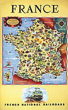 France - French National Railroads 1951