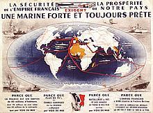 Une Marine Forte et Toujours Prete vers 1930