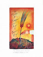 Le Moulin de Mougins - Roger Vergé -  1990 - Carte de Vœux 1990