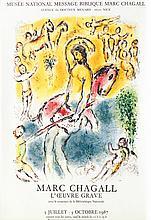 Marc Chagall - Musée National Message Biblique Nice 1987