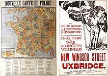 Nouvelle Carte France / New Windsor Street Uxbridge