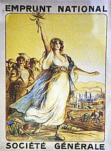 Société Générale- Emprunt National - Rare dans cette taille vers 1915
