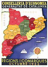Regions i Comarques octubre 1936