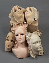 Compagnie Pajot-Walton's   Ensemble de dix masques