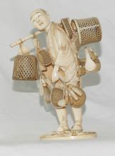 Japanese Ivory Group Figure