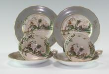 Pair of Vintage Royal Worcester Tea Cup Sets