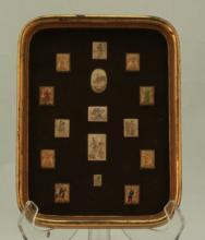 fifteen Ivory Miniatures.