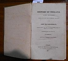 Volume 1 of: History of Ireland, Ancient and