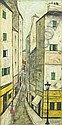 Antoine Villard (French, 1867-1934) Street Scene., Antoine Villard, Click for value
