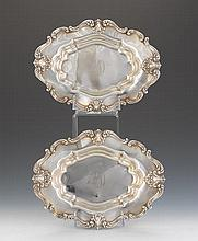 Frank M. Whiting Co. Pair of Sterling Silver Vegetable Dishes