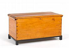 Blanket Chest, Dated 1885, Signed James Vickery