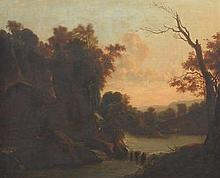 Attr.: Jacob Isacksz Van Ruisdael (Dutch, 1629 - 1682)