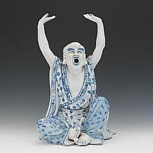 Chinese Porcelain Figure of Robed Deity