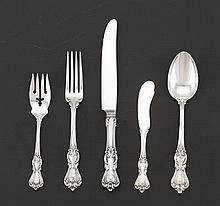 "Reed & Barton Group of Sterling Silver Flatware, ""Marlborough"", ca. 1906"