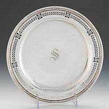Tiffany & Co. Sterling Silver Footed Dish