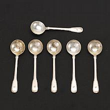 Tiffany & Co. Sterling Silver Cream Soup Spoons, 1921